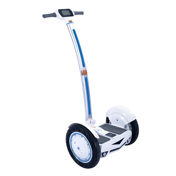 Airwheel S3 520WH Electric Two Wheel Self Balancing Scooter (White / Blue)