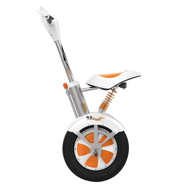 Airwheel A3 520WH Electric Two Wheel Sitting Scooter (White/Orange)