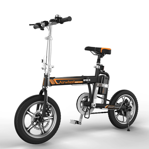 Airwheel R5 214WH Electric Foldable Bicycle - E Bike (Black)