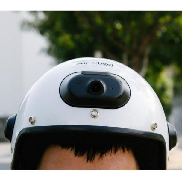 Airwheel C6 Smart Motorcycle Helmet with Built-in Camera & Speakers (White)