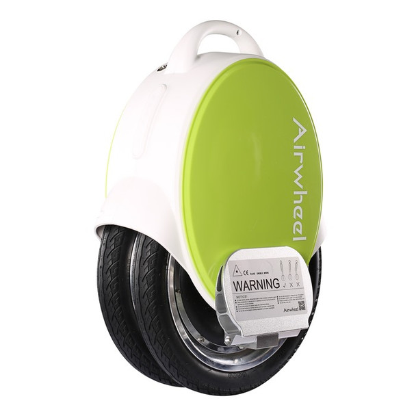 Airwheel Q5 170WH Electric Unicycle (White / Green)