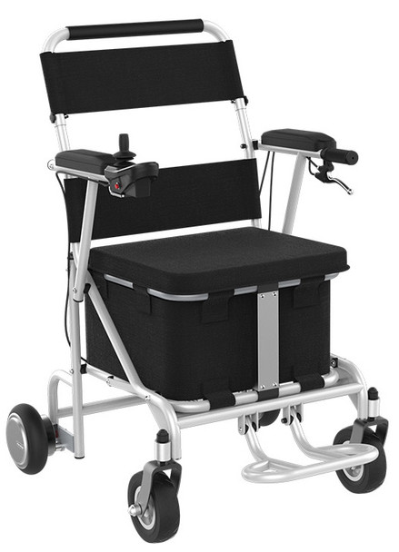 Airwheel H8 Smart Electric Folding Wheel Chair (Black / Silver)