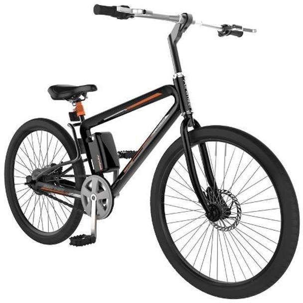 """Airwheel R8 162WH Electric 26"""" Wheel Bicycle (Black)"""
