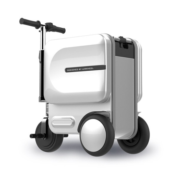 Airwheel SE3 Smart Ride-able Suitcase (Silver)