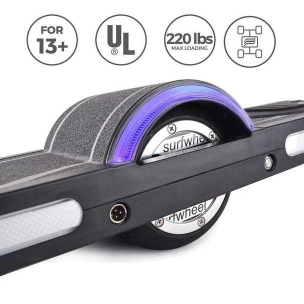 """Surfwheel SU 27"""" One +4 Wheels Electric Skateboard / Surfboard"""