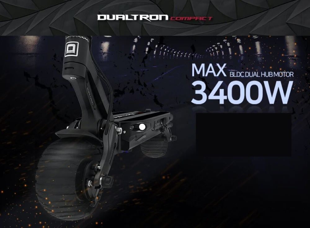 Dualtron Compact Action Picture E-Scooter