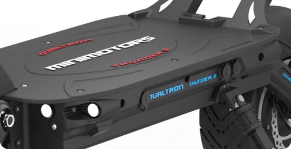 Dualtron Thunder 2 Rubber Deck E-Scooter