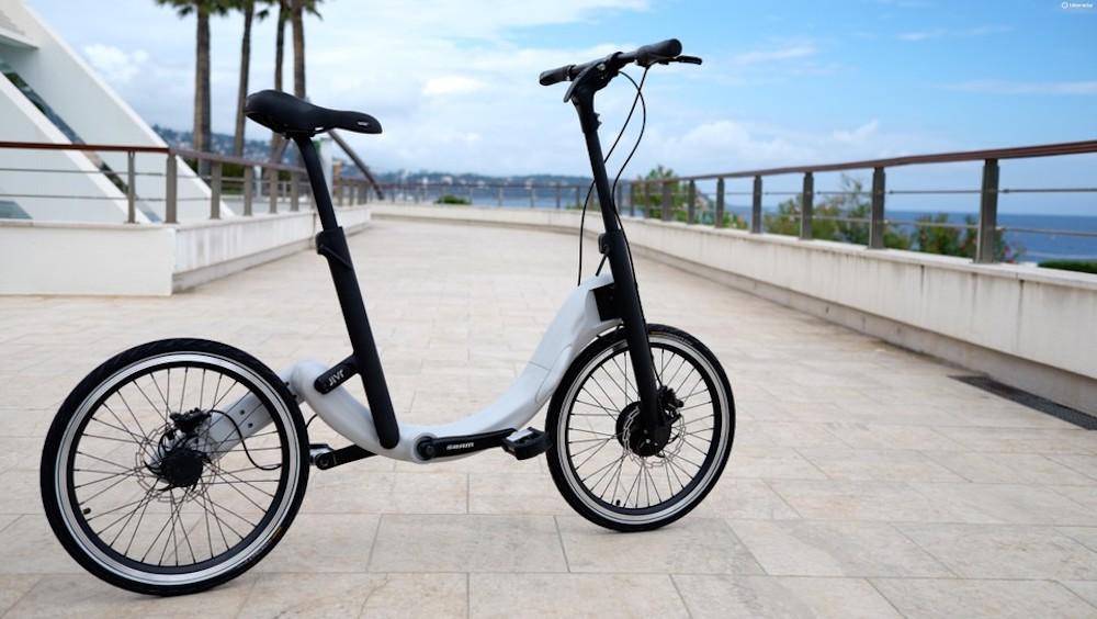 JIVR Foldable Electric Bike Chainless E-Bike