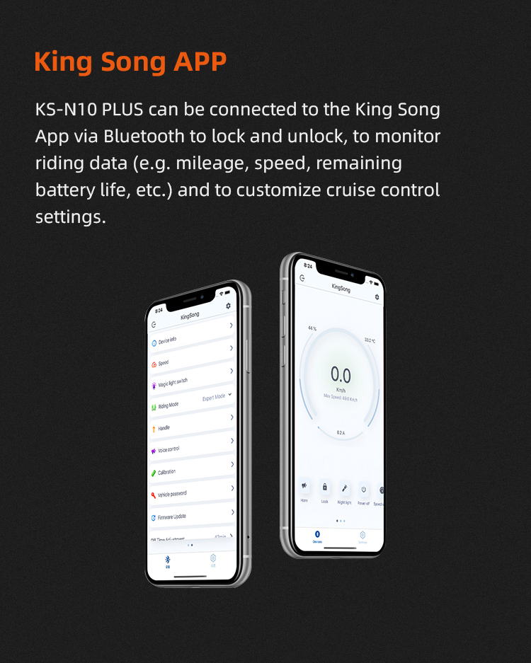 KingSong N10+ Electric Scooter