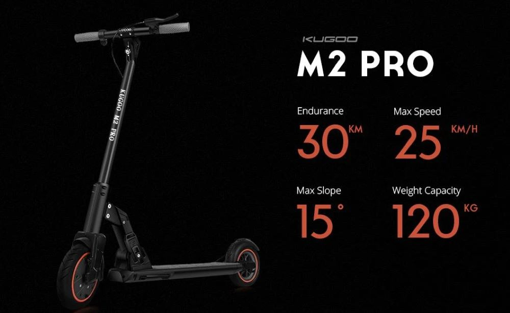 Kugoo M2 Pro Electric Scooter Specifications