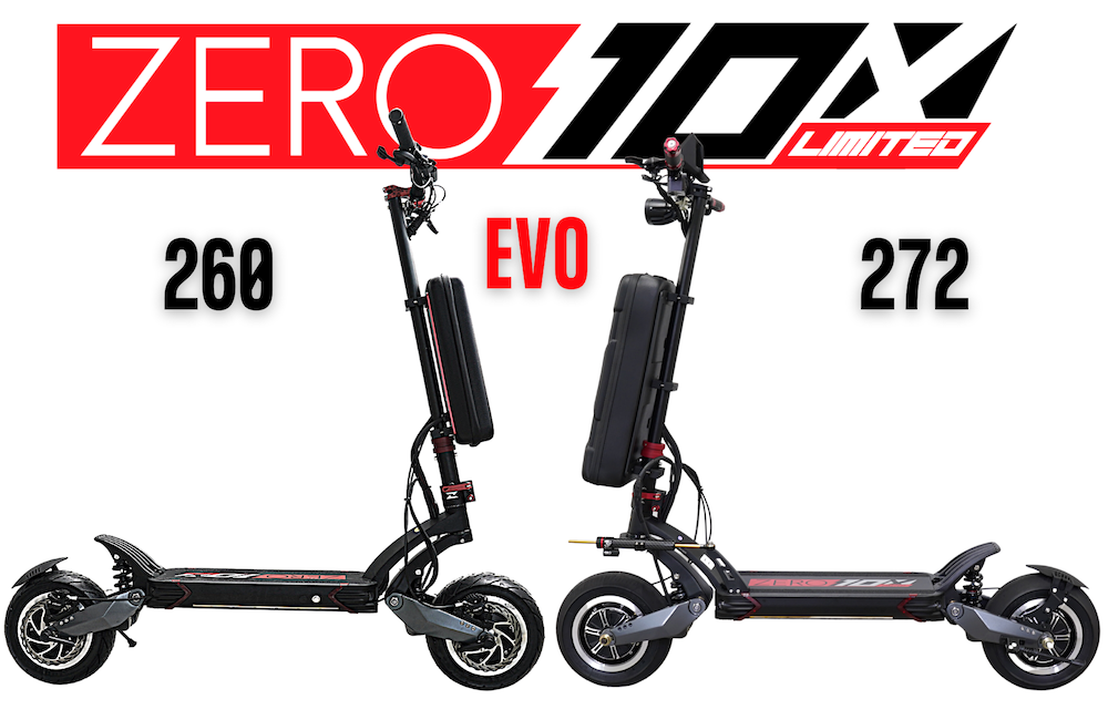 Zero 10X EVO 260 Limited Comparison