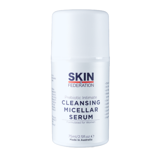 Leave on intimate cleansing micellar water - Prebiotic Intimate Cleansing Micellar Serum (75ml)
