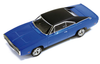 Premium X 1:43 1970 Dodge Charger 500: Blue