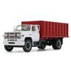 First Gear 1:34 1970's GMC 6500 Grain Truck: Red/White