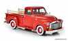 Esval 1:43 1951 GMC Series 100 5 Window Pick-Up Truck, Red
