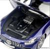 Norev 1:18 2019 Mercedes Benz GT-S V8 Bi Turbo AMG, Metallic Blue