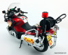 Tiny 1:12 BMW Motor Cycle w/Fire Fighter: Hong Kong Fire Department