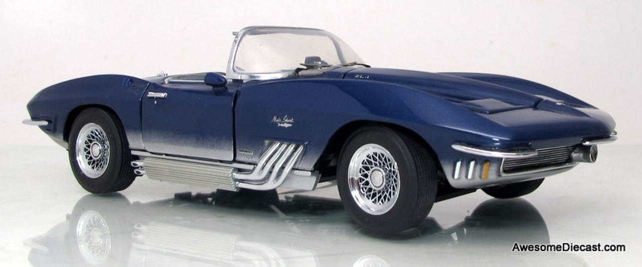 Franklin Mint 124 1965 Chevrolet Corvette Mako Shark Awesome Diecast