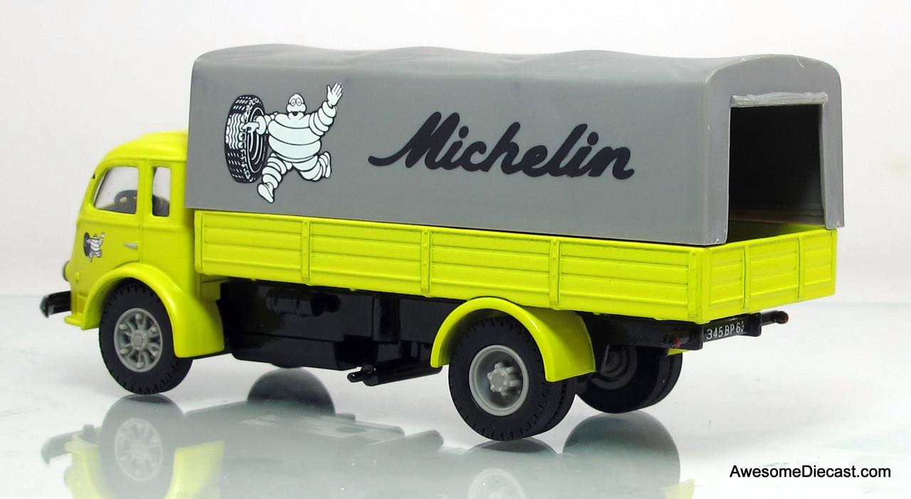 Corgi 1:50 Renault Lazy Tarp Truck - Michelin