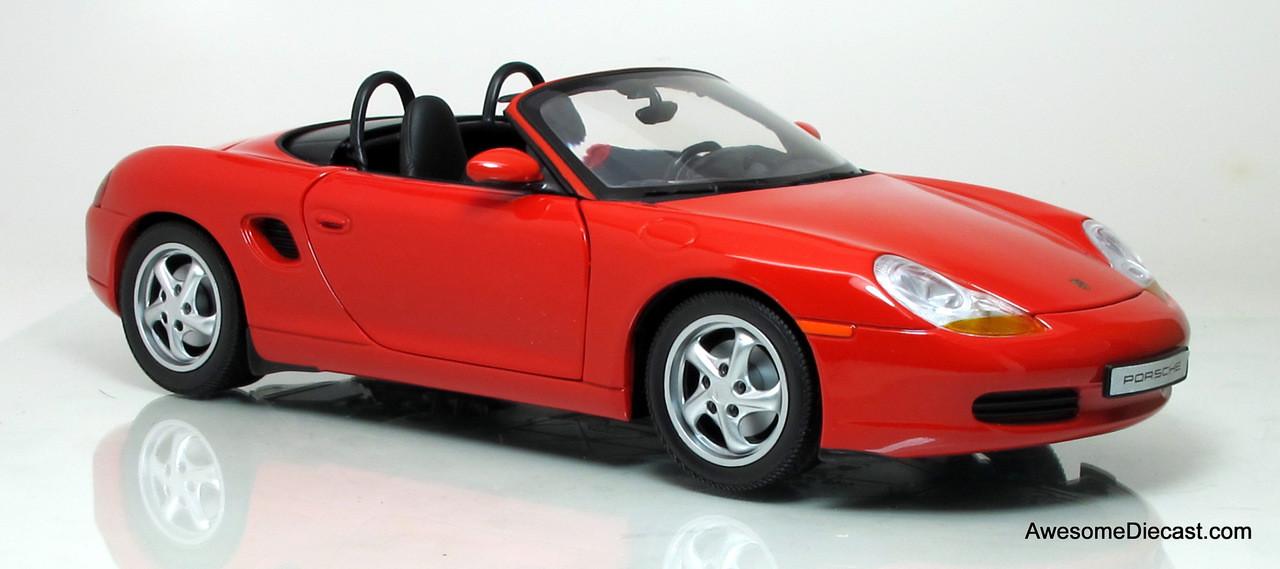 UT Models 1:18 Porsche Boxster Cabriolet