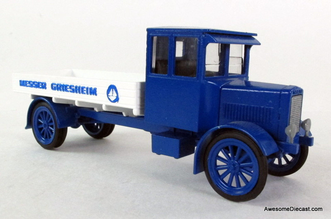 ONLY ONE - Conrad 1:50 MAN KVB4 Low Side Flatbed Truck: Messer Griesheim