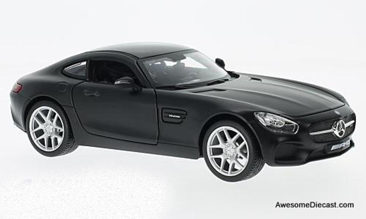 1:18 maisto mercedes sl65 AMG cabriolet Matt Grey New en Premium-modelcars