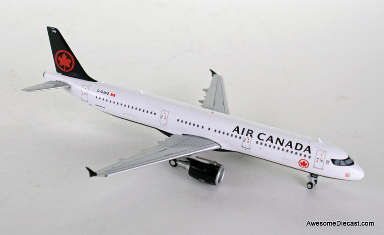 Gemini Jets 1:400 Airbus 321 Air Canada airplane