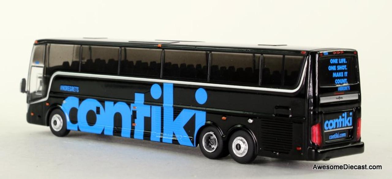 Iconic Replica 1:87 Van Hool TX-45 Coach: Contiki Tours