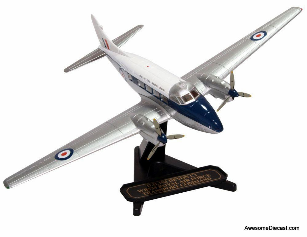 Oxford 1:72 De Havilland D.H. 104 Devon C1 WB534, RAF Transport Command