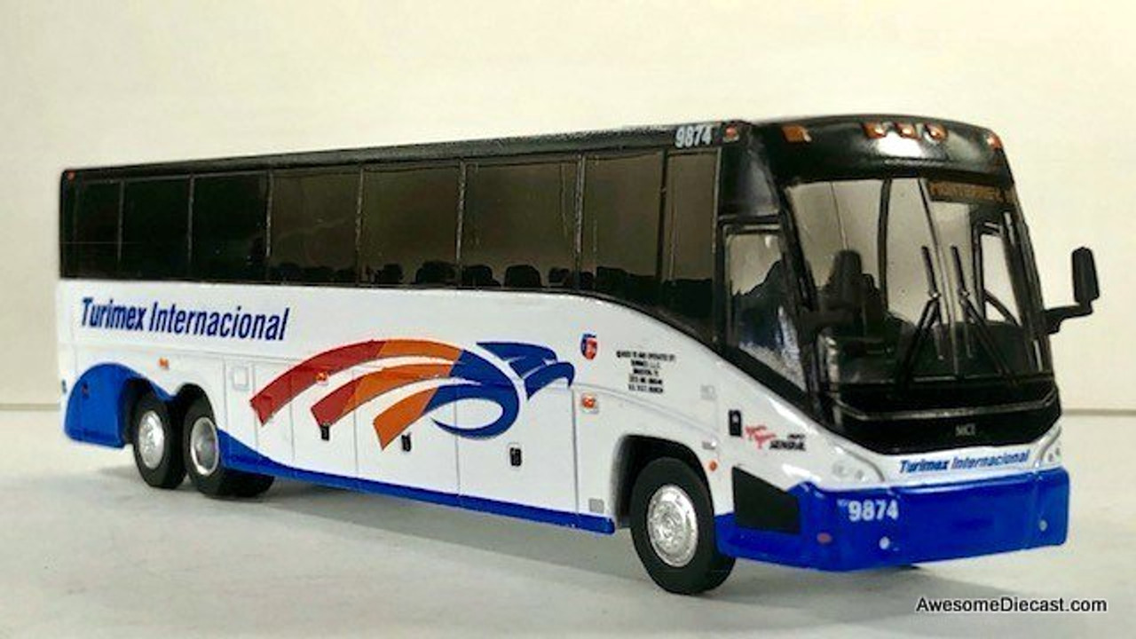 Iconic Replica 1:87 MCI J4500 Motorcoach: Turimex Internacional