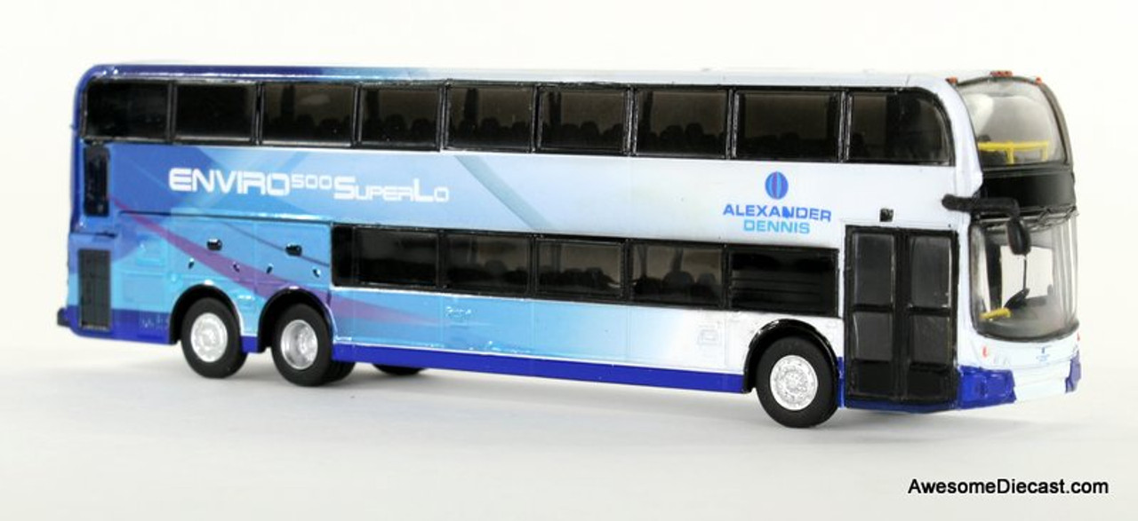 Iconic Replica 1:87 Alexander Dennis Enviro 500 Double Decker Bus: Corporate 3/4 Front 87-0085