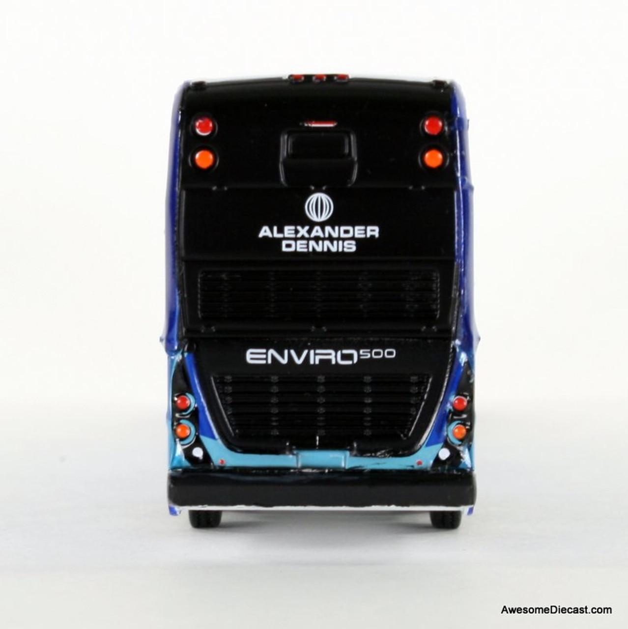 Iconic Replica 1:87 Alexander Dennis Enviro 500 Double Decker Bus: Corporate Rear 87-0085
