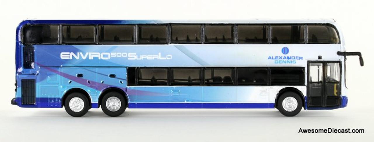 Iconic Replica 1:87 Alexander Dennis Enviro 500 Double Decker Bus: Corporate Driver Side 87-0085