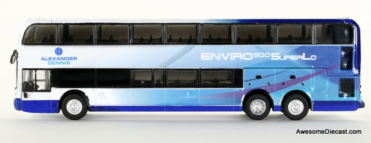 Iconic Replica 1:87 Alexander Dennis Enviro 500 Double Decker Bus: Corporate Passenger Side 87-0085