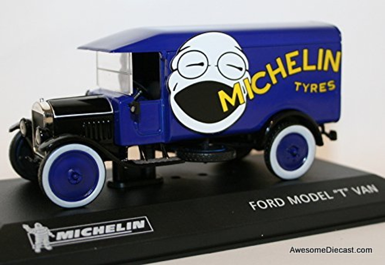 "IXO Michelin Promotions 1:43 Ford Model ""T"" Van"