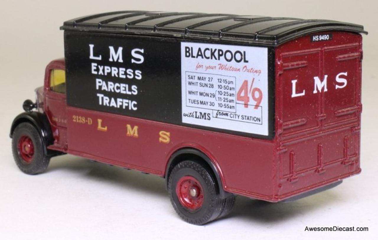 Corgi 1:50 Bedford O Series Van, Maroon 'LMS Express Parcels'