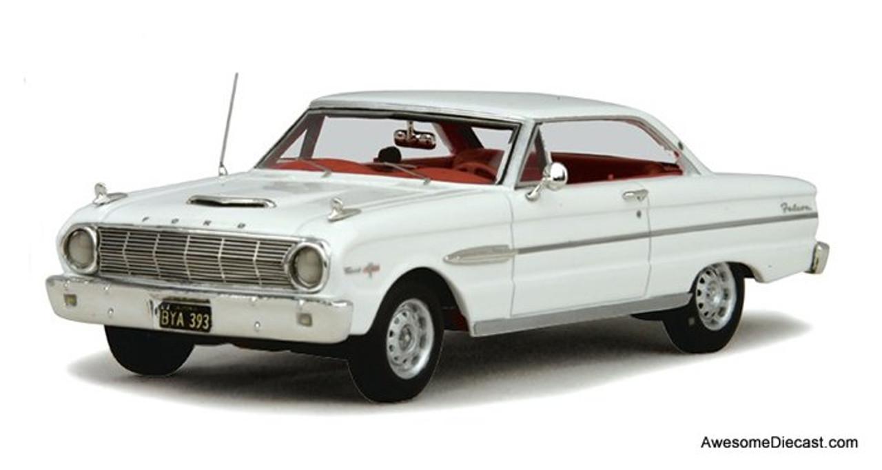 Goldvarg Collection 1:43 1963 Ford Falcon Sprint, White