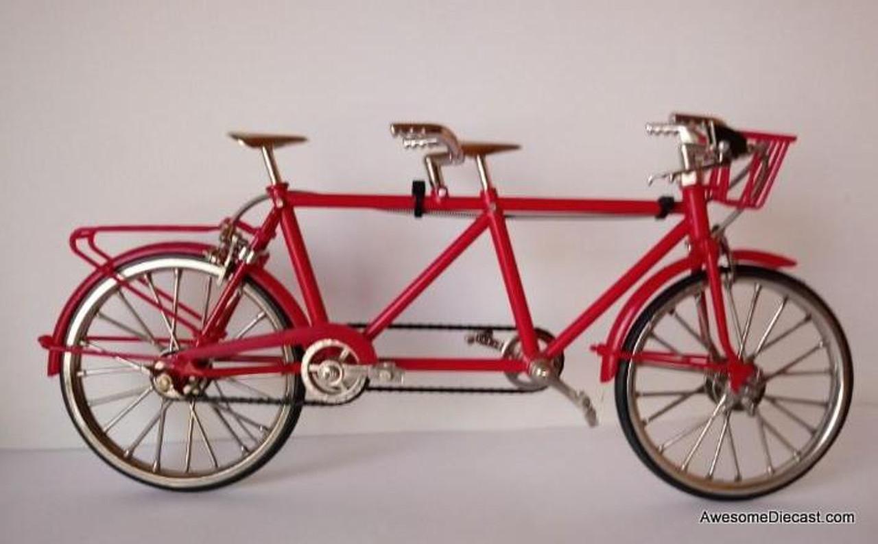Diecast 1:10 Tandem Bike ,Red
