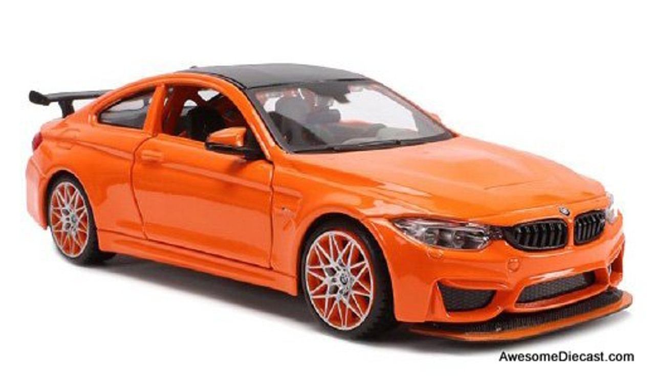 Maisto 1:24 BMW M4 GTS, Orange Metallic
