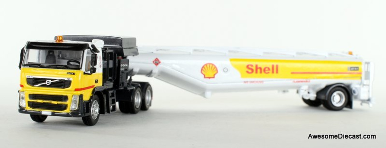 Iconic Replica 1:87 Volvo FM500 w/ Aviation Fueling Tanker: Shell Aviation
