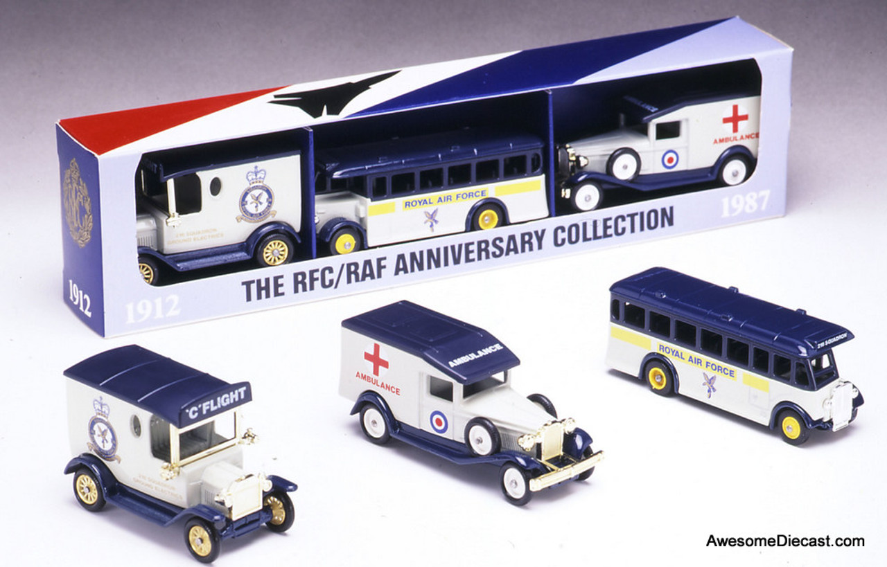 Lledo 1912-1987 RAF Anniversary Collection