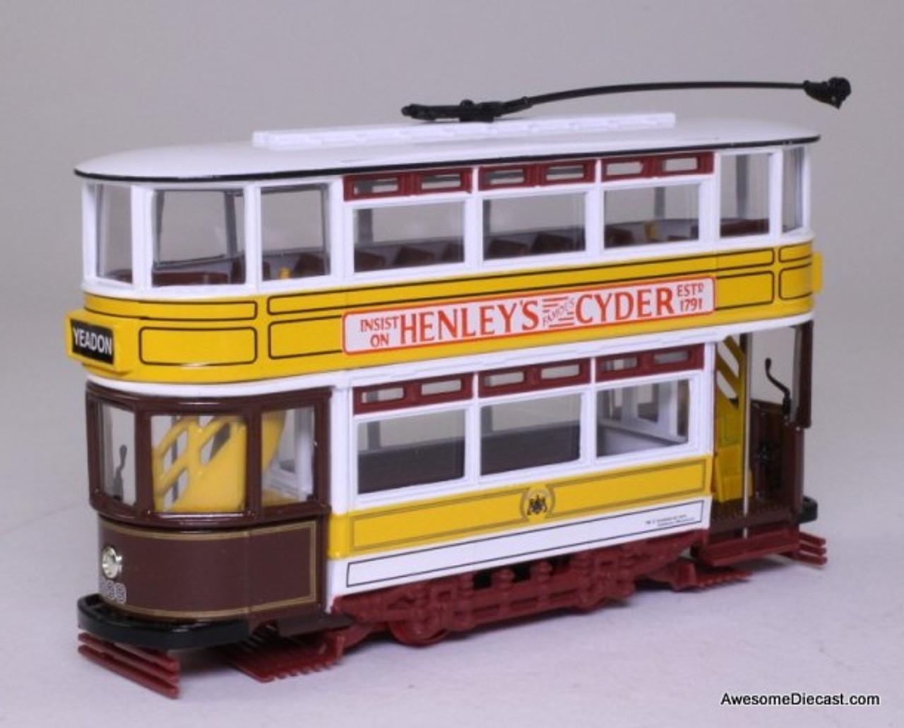 Corgi 1:72 Double Decker Fully Closed Tram 'Leeds'