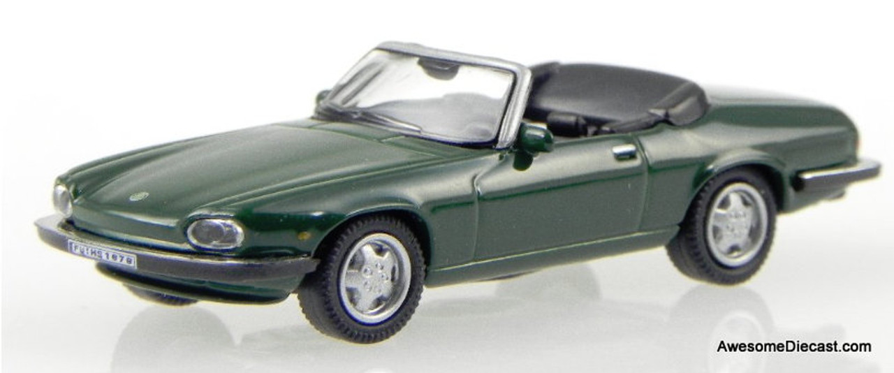 Schuco 1:87 Jaguar XJS Convertible, Green