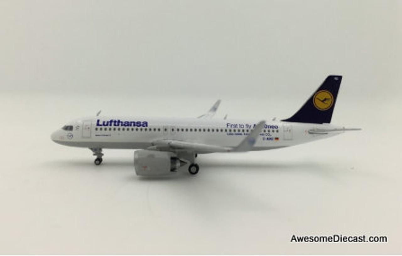 Gemini Jets 1:400 Airbus A320neo D-AINC 'Lufthansa'