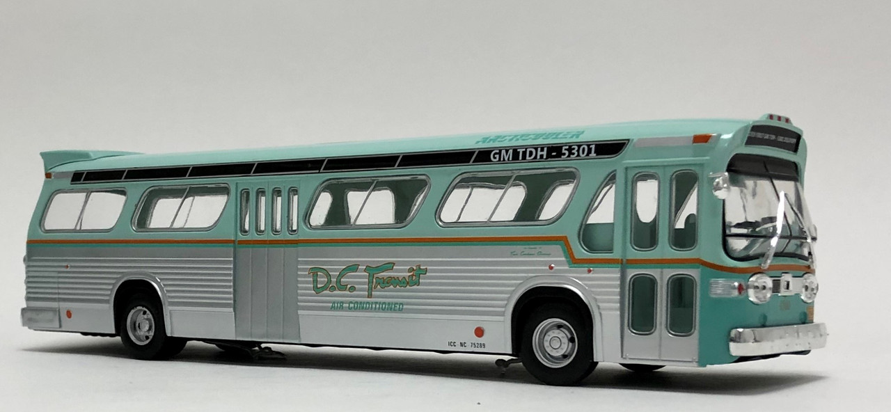 General Motors TDH-5301 1:43 Historischer Bus Fertigmodell Die-Cast Metall