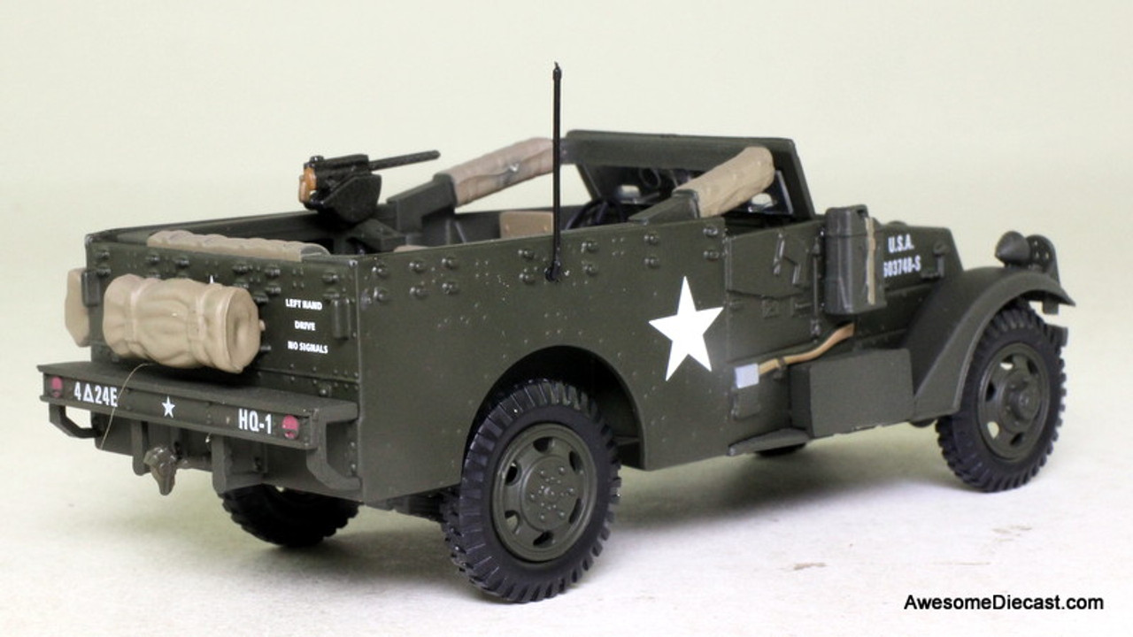 Atlas 1:43 1944 USA M3 Scout Car Carrier