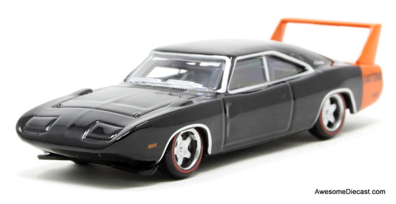 Oxford 1:87 1969 Dodge Charger Daytona, Black