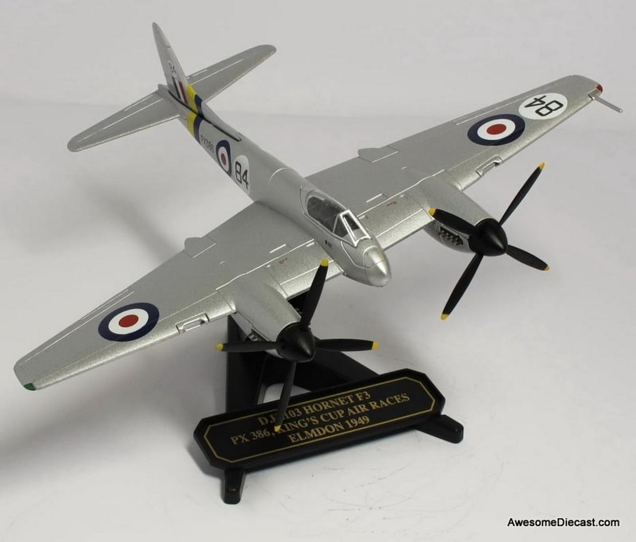Oxford 1:72 De Havilland Hornet F3 Reg PX 386: Kings Cup Air Race