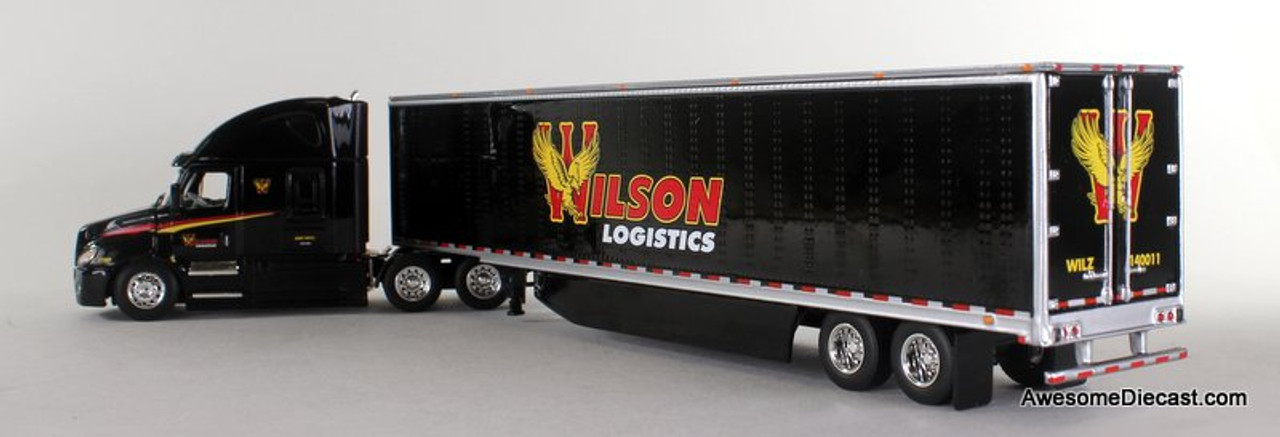DCP by FG 1:64 Freightliner Cascadia w/ 53' Utility Trailer: Wilson Logistics