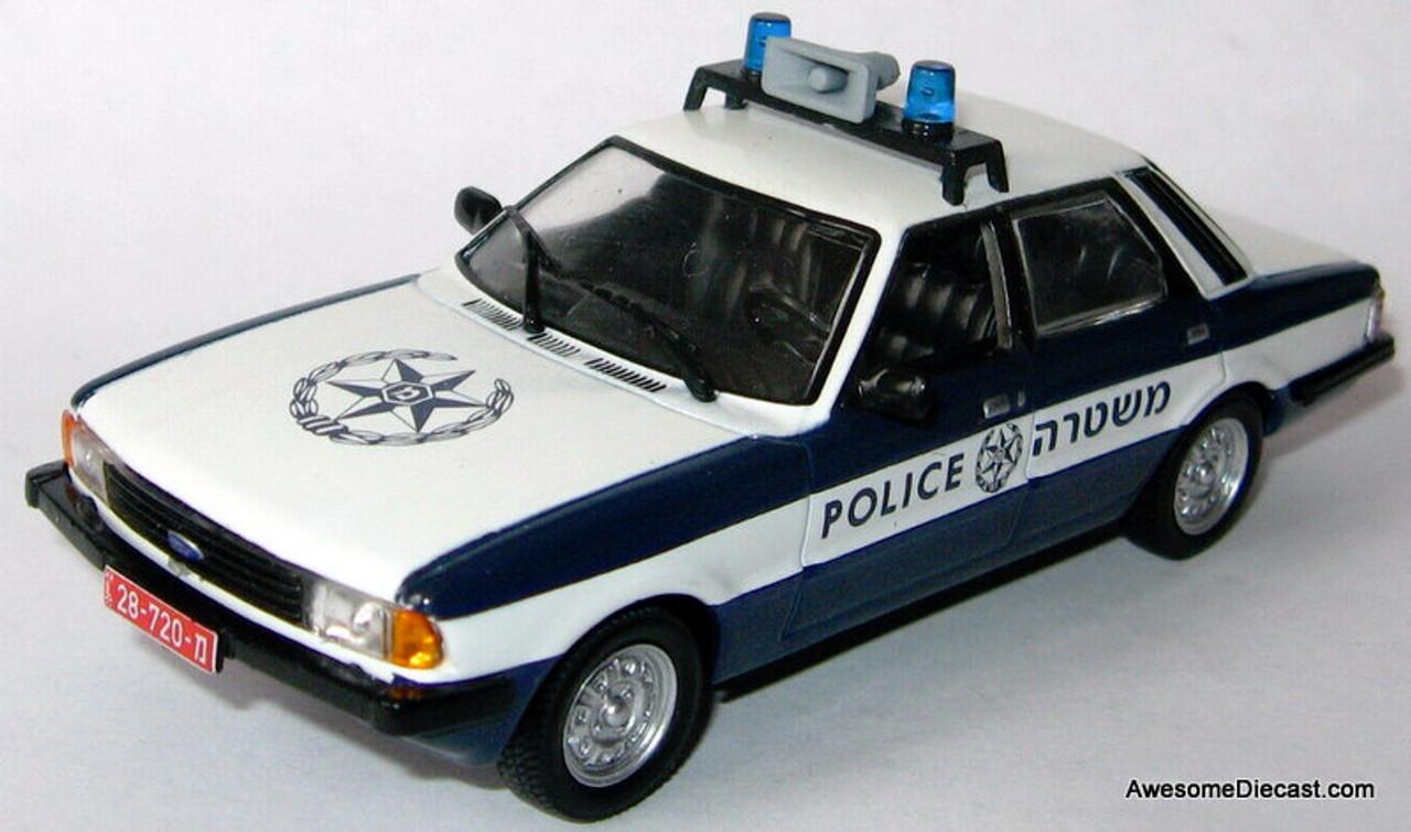 POLIZEI TOYOTA LAND CRUISER FJ40 IXO//IST 1//43 POLICE NEU OVP